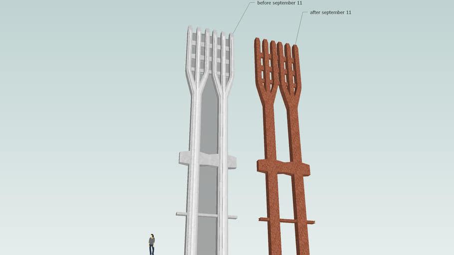 World Trade Center Steel Tridents