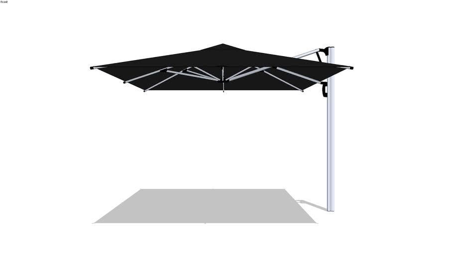 Solero Parasol Fuerto Pro 300x300cm