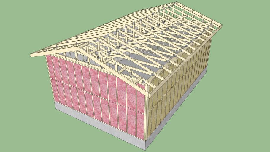 Framing Test 4 - Cavity Insulation
