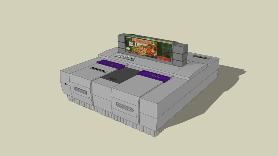 Super Nintendo 90% drawn to scale