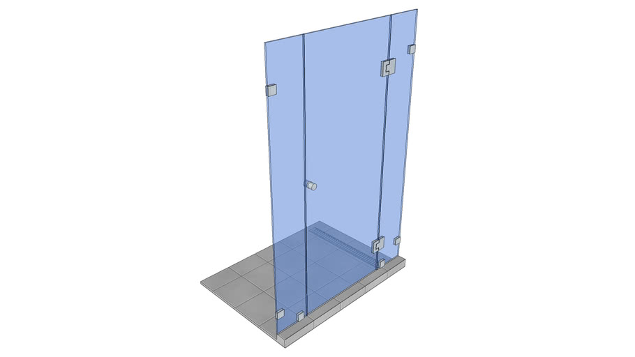 Shower cubicle 1200 x 900