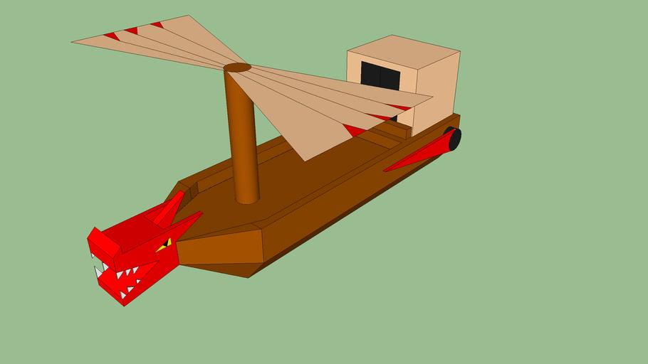 ninjago flying boat