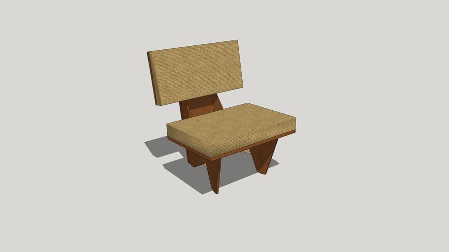 Frank Lloyd Wright Usonian Automatic Chair
