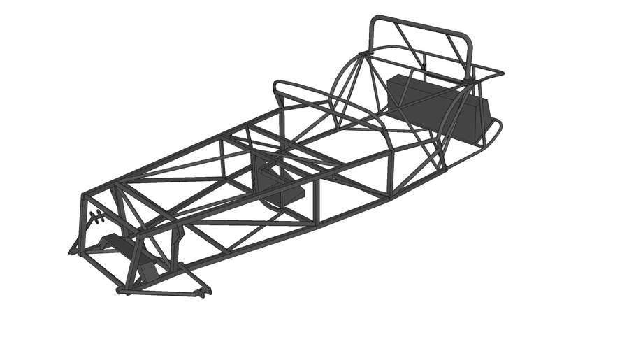 Frame Lotus Super Seven Series 3
