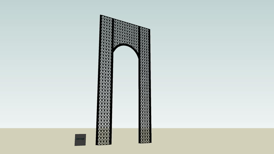metal arch