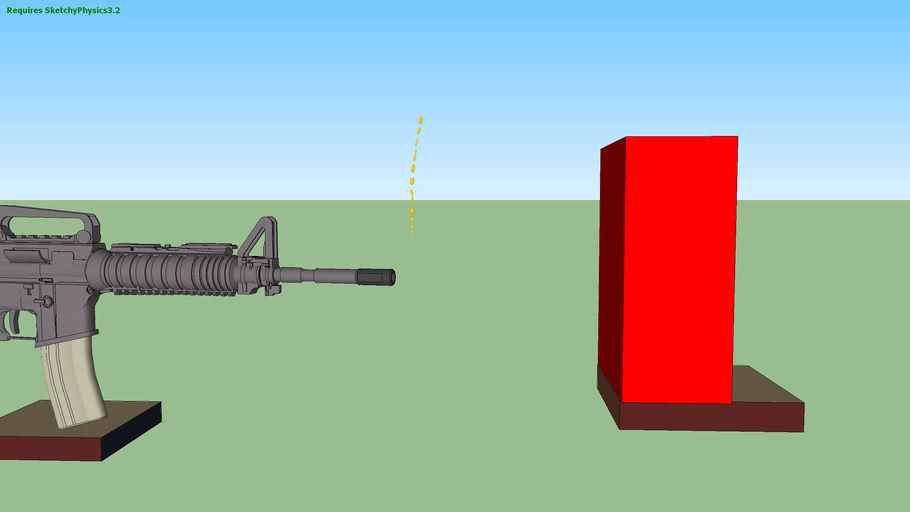 Fully automatic gun prototype
