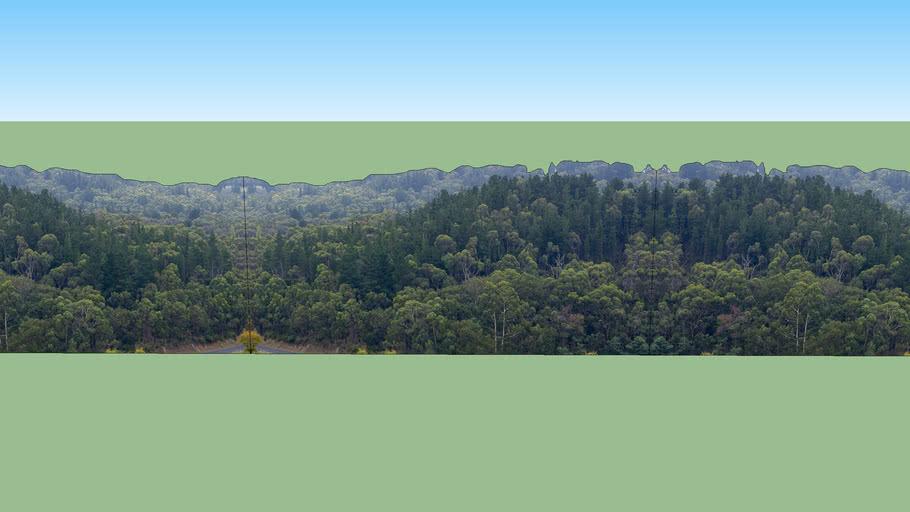 Tree Line Background