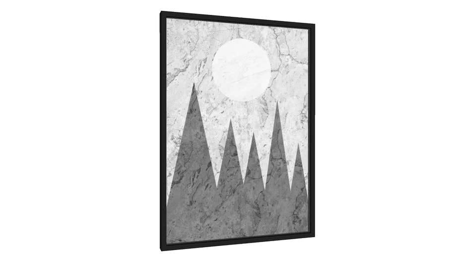 Quadro Floresta geométrica - Galeria9, por Arte Natural
