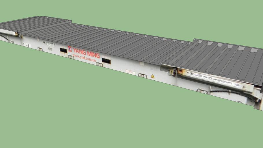 Yang Ming Flat Rack 40'