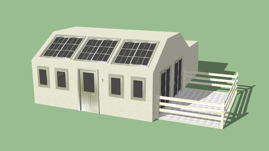 Modern Medium-Sized Canarian House V2 {336Kb}