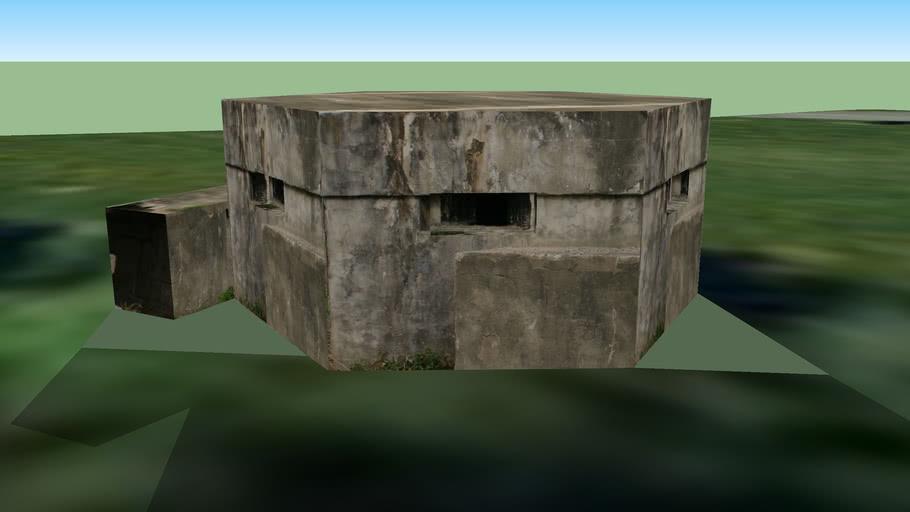 Type 22 Pillbox, Weston Super Mare, Somerset