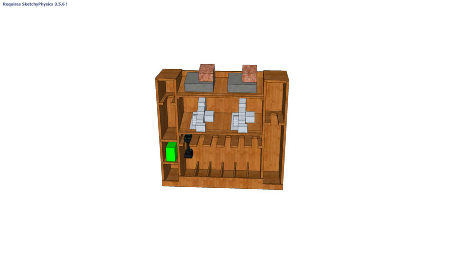 Cordless Tool Storage Box