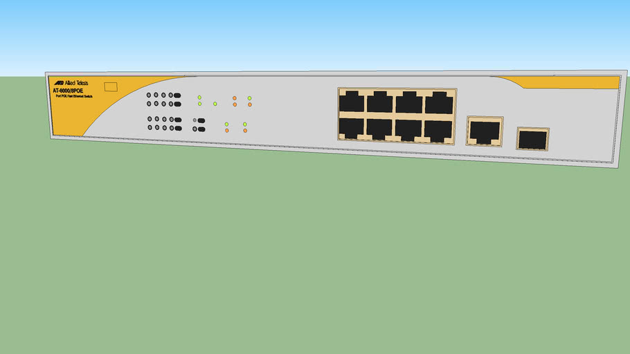 Allied Telesis (AT-8000-8POE) ethernet switch
