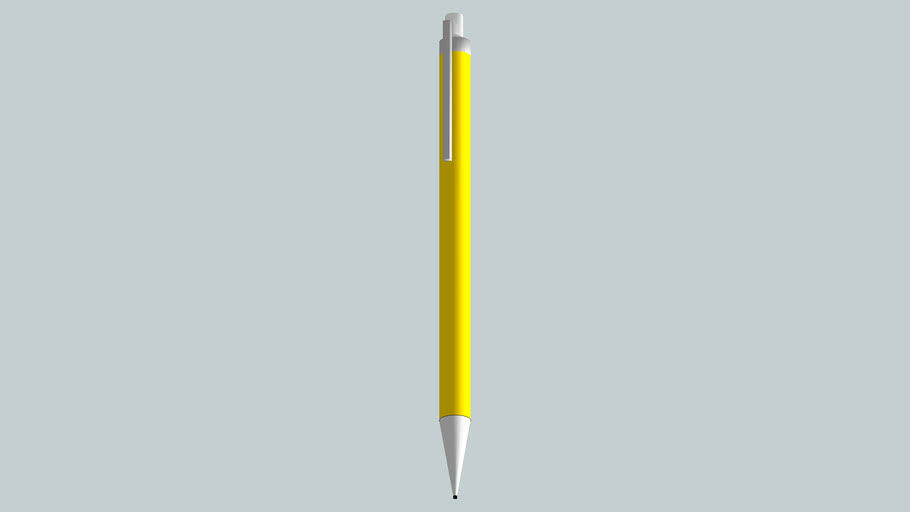 Caneta Amarela simples