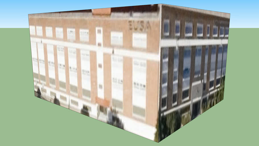 Building in Sevilia, Spania