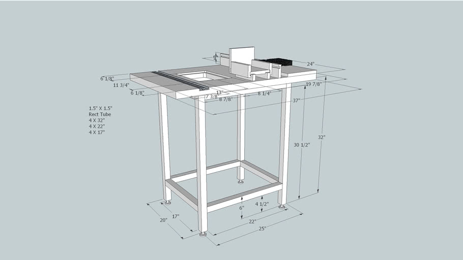 Complete Router Table