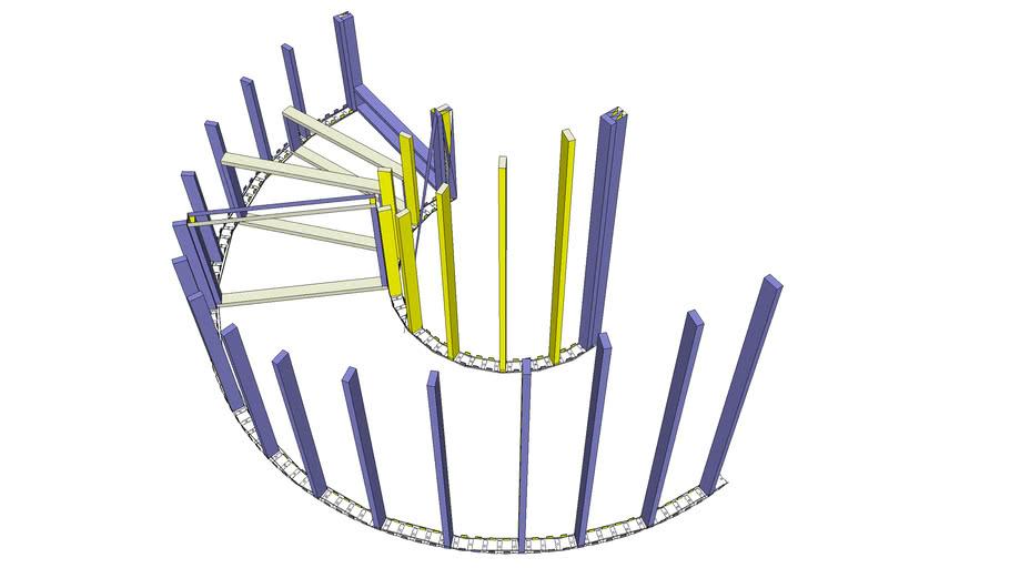 Flex-C Curve Stairs Large