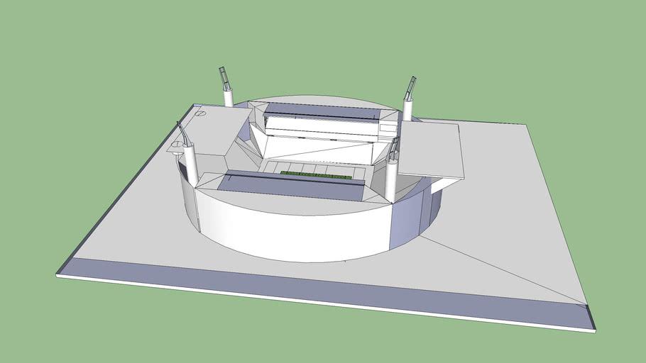 Estadio en construccion