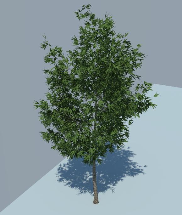 vray trees