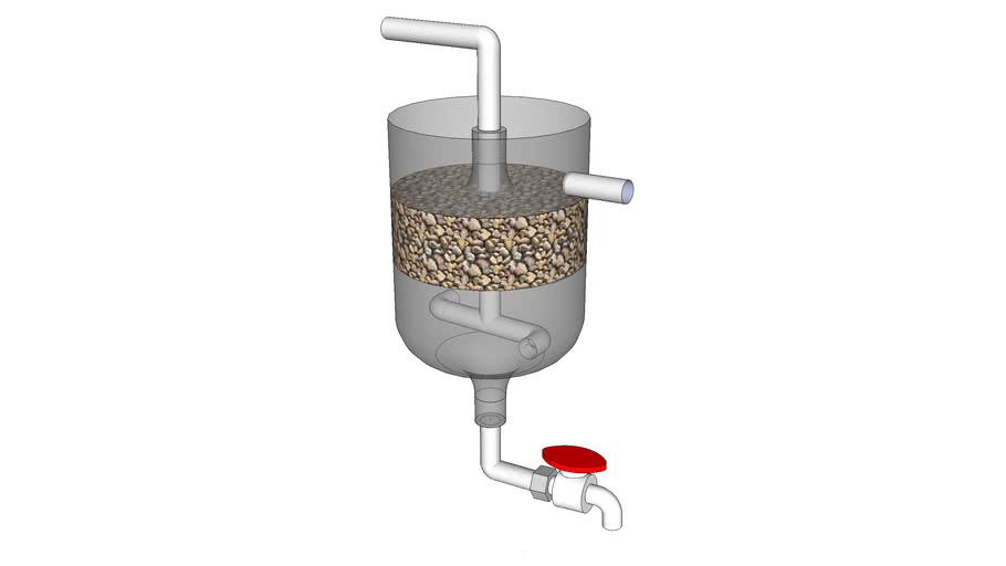 Aquaponics biofilter