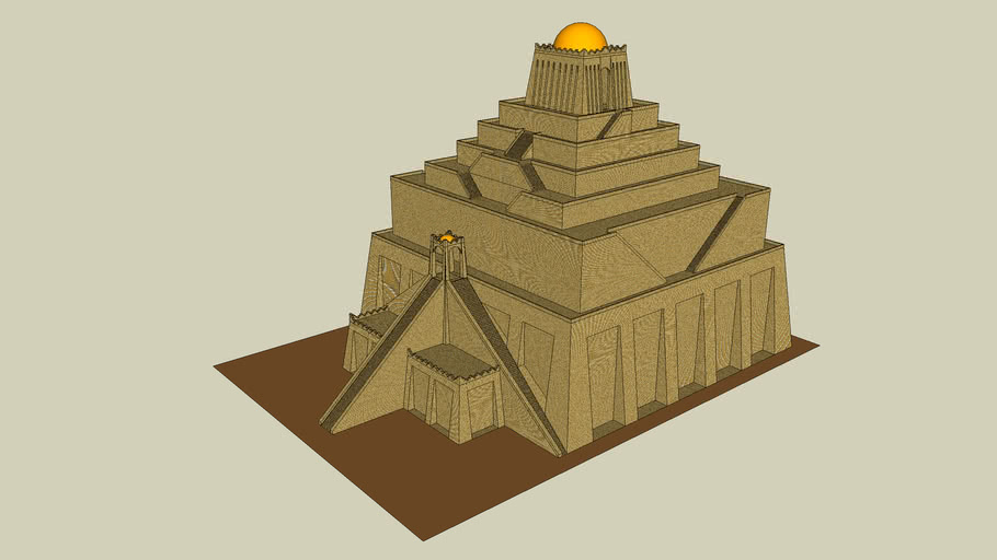 Ziggurat of Marduk