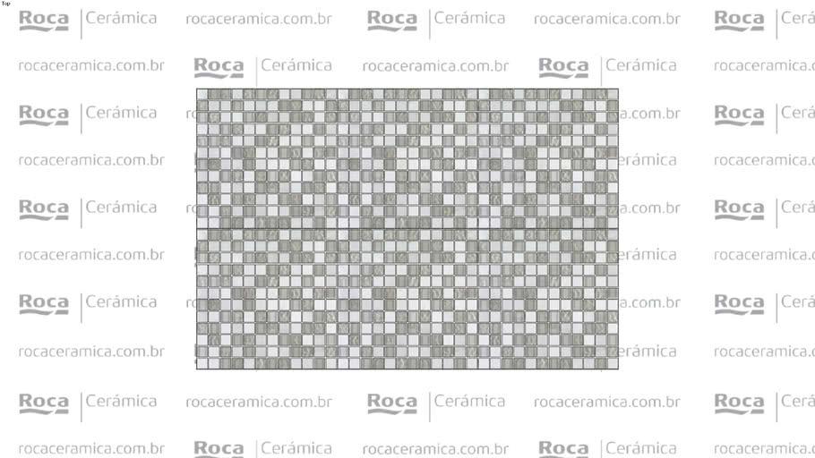 ROCA - MALLA DRESDEN CARRARA BL 30X30