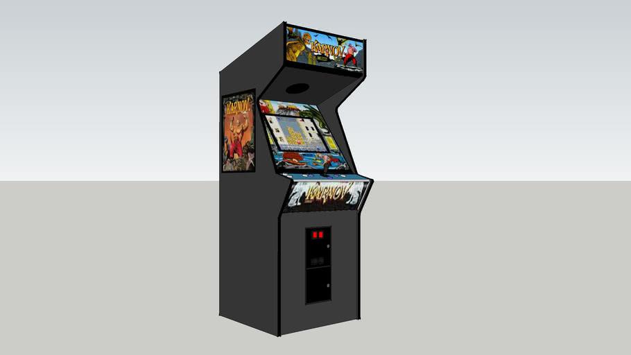 Karnov arcade game
