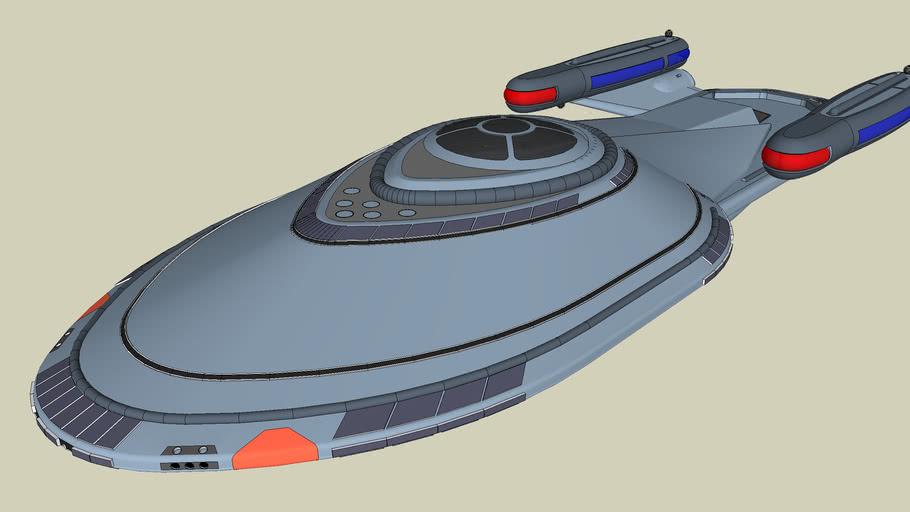 Star Trek NX-Design 1-A U.S.S. Thunder ll
