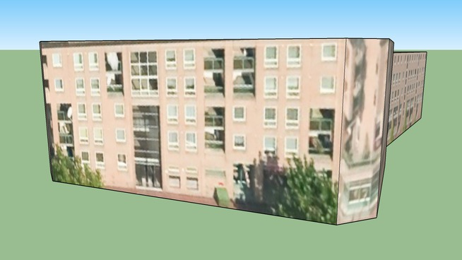 1094XN Amsterdam, Hollanda adresindeki yapı