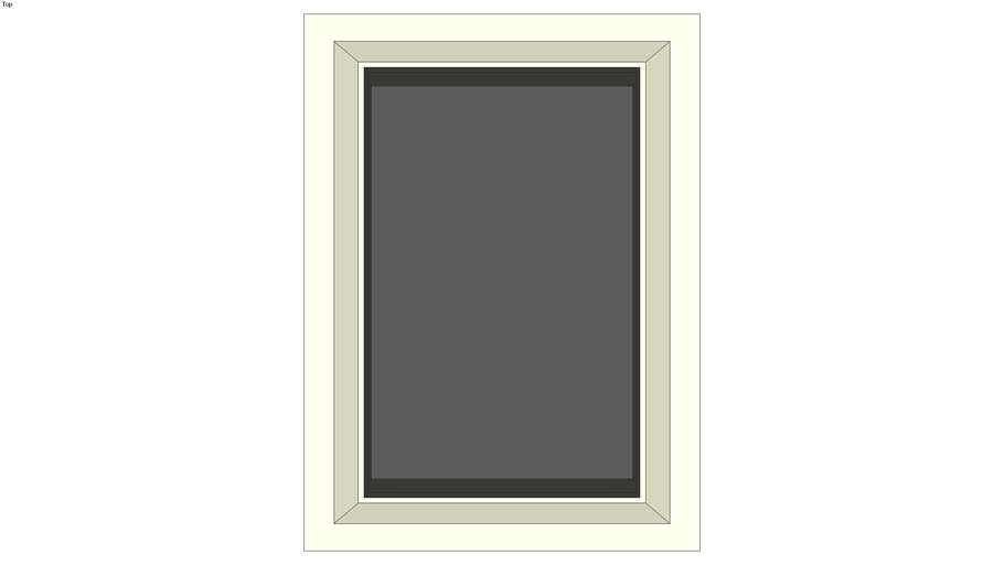 Acrylic dome skylight 22 in. x 30 in.