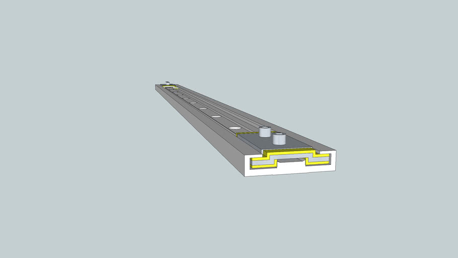 Igus DryLin NW-02-40 Linear Guide