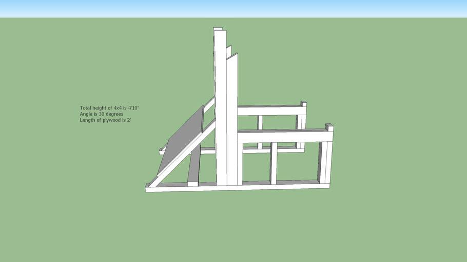 Squat Rack (wooden) V2