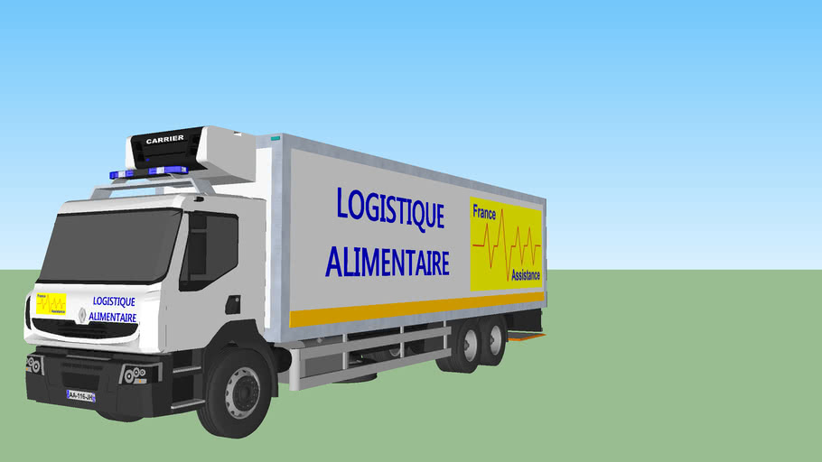 Camion Logistique Alimentaire FAS ZN