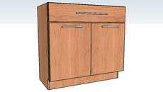Vanity Cabinets - Madison Cherry Honey Spice by KraftMaid® Cabinetry at Home Depot®