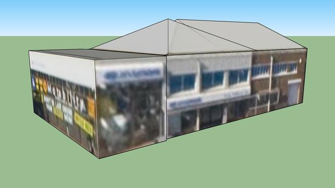 加的夫, UK的建筑模型
