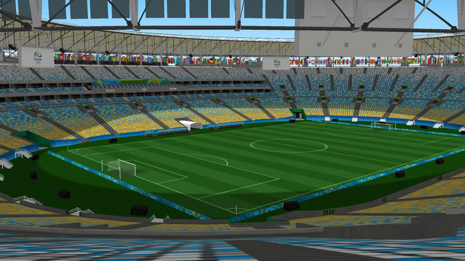 Maracana Stadium for the 2016 Olympics - Estádio do Maracanã Olímpiadas Rio 2016