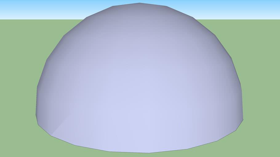 Half a Sphere