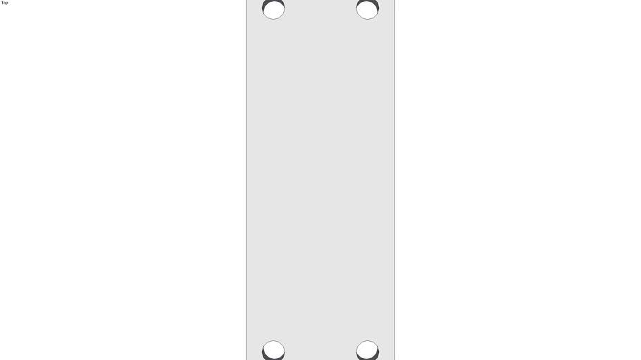 Not driven Wheel blocs - floating version