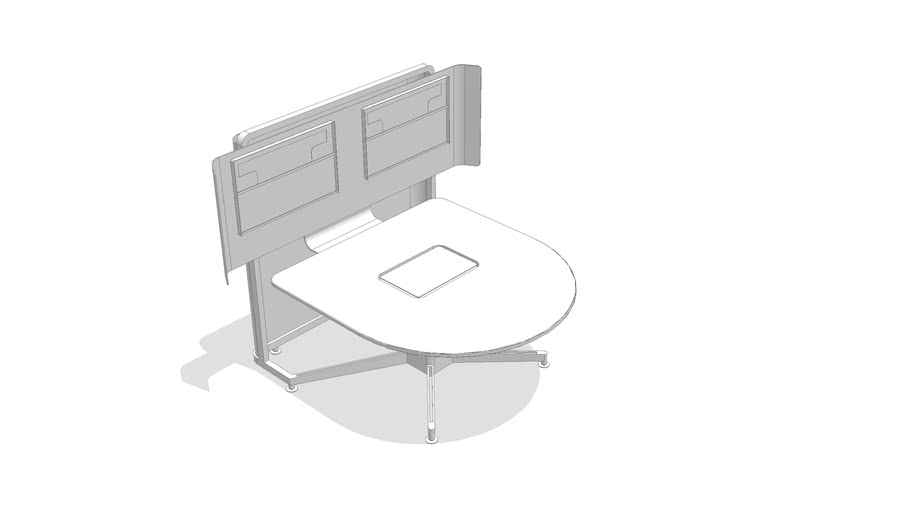 media:scape - Lounge Height Table