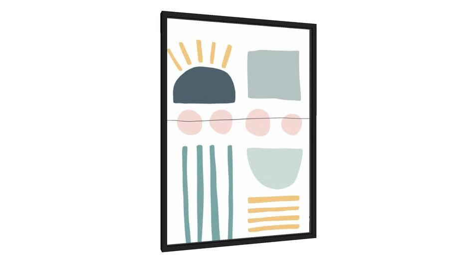 Quadro Full Of Joy - Galeria9, por Rachel Moya