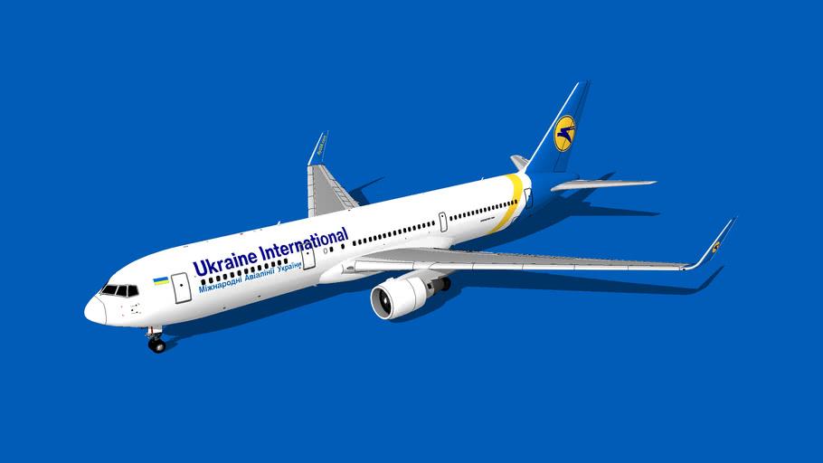 Ukraine International Airlines (Міжнародні Авіалінії України) Boeing 767-33A(ER)(WL)