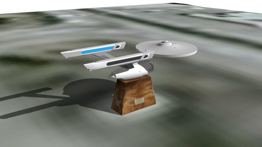 USS Enterprise in vulcan, alberta, canada