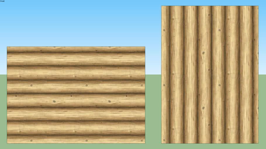 Log Cabin Siding 01