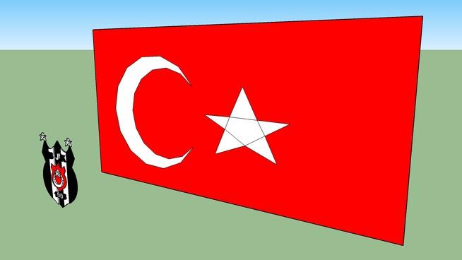 Türk Bayrağı ve Beşiktaş