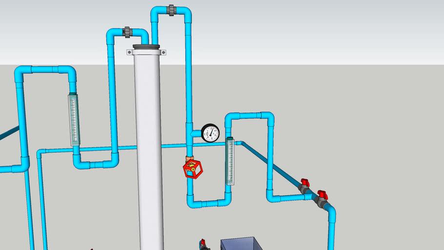 proses kerja pencucian membrane pompa cdlf2