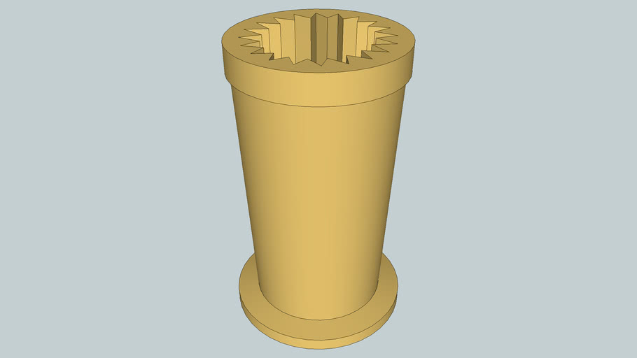 Straight Curved Optic Mold