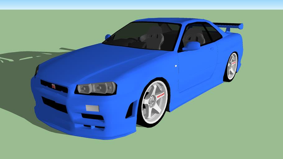 Nissan Skyline BNR34 GT-R