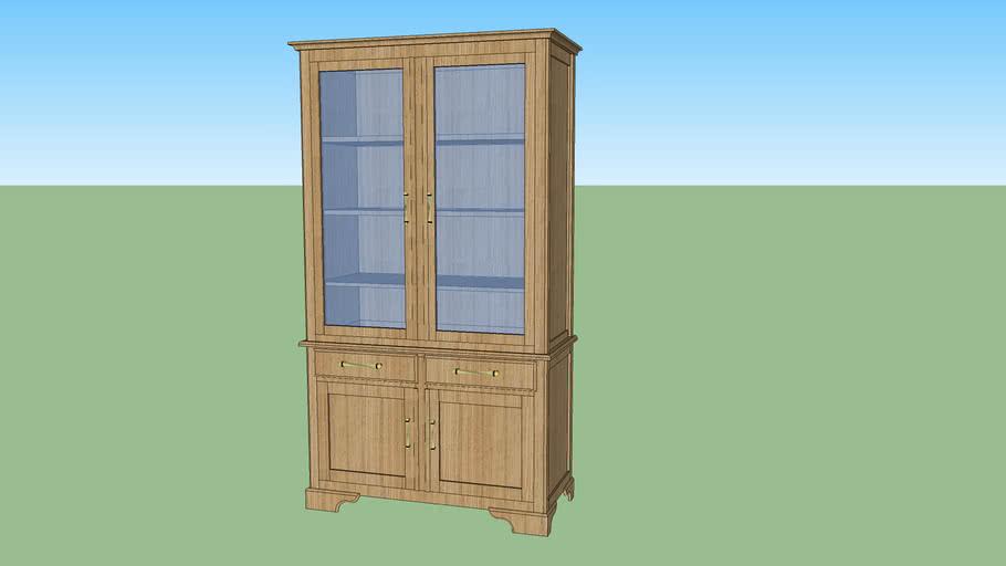 meuble vitrine ou bibliothèque