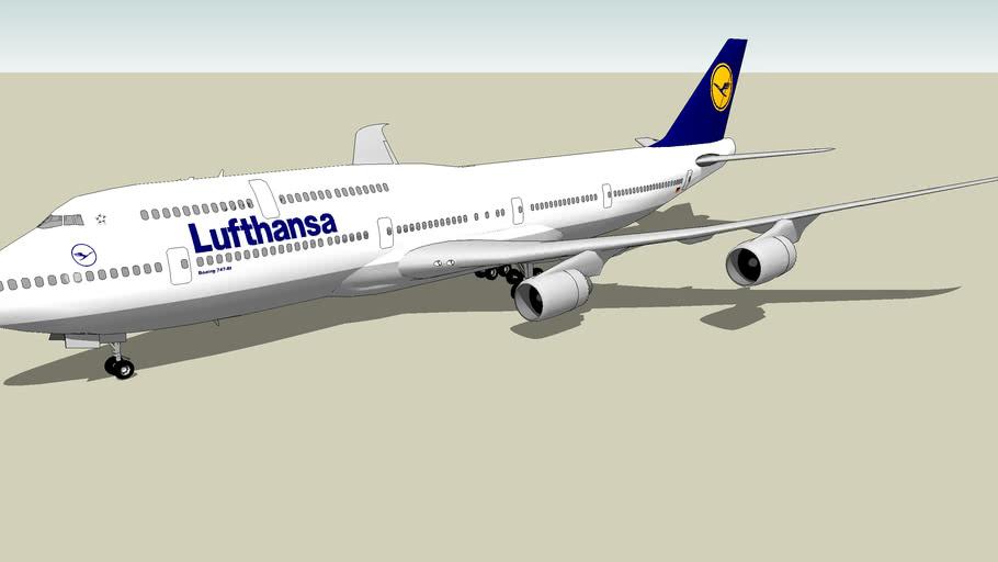 Lufthansa Boeing 747-8I