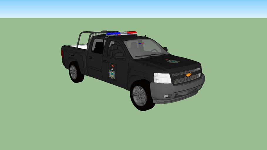 patrulla de la policia estatal investigadora de jalisco
